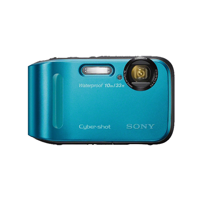 16.1 Megapixel T Series 4X Optical Zoom Cyber-shot Compact Camera (Blue), , product-image