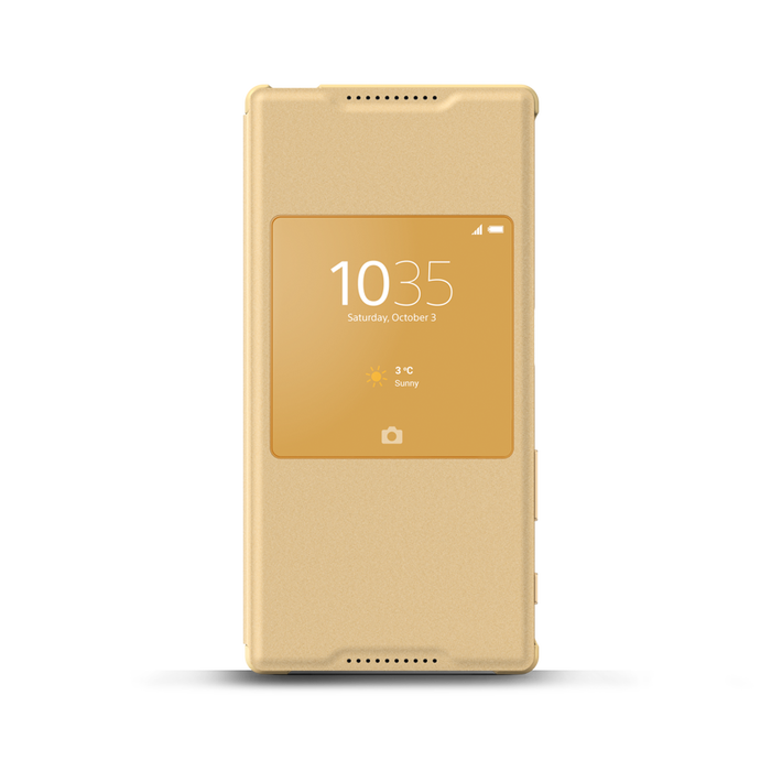 Smart Cover Stand SCR42 for Xperian Z5 (Gold), , product-image