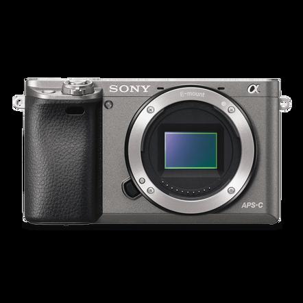 Alpha 6000 Digital E-Mount Camera (Grey) with 16-50mm Lens, , hi-res