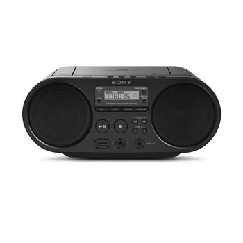 CD Boombox with AM/FM Radio Tuner and USB Playback, , lifestyle-image