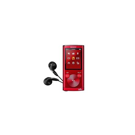 8GB E Series Video MP3/MP4 Walkman (Red)
