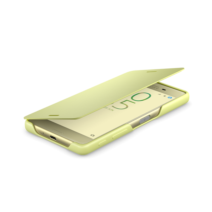 Style Cover Flip SCR52 for Xperia X (Lime Gold), , product-image