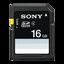 16GB SD/HC memory card