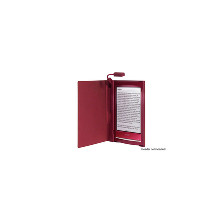 Cover with Light for PRS-T1 Reader (Red)