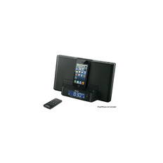 iPod and iPhone Dock Clock Radio (Black)