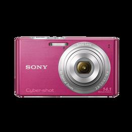 14.1 Megapixel W Series 4X Optical Zoom Cyber-shot Compact Camera (Pink)