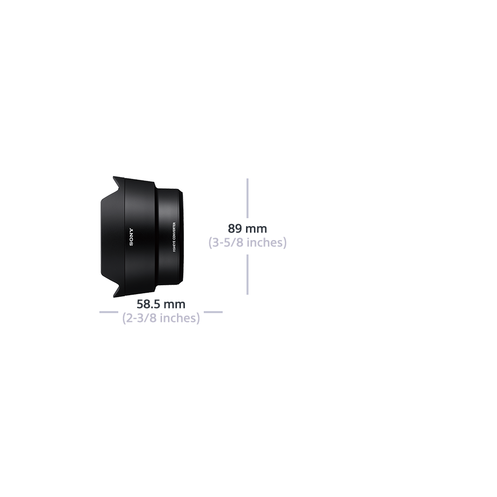 E-Mount Fisheye Converter , , hi-res