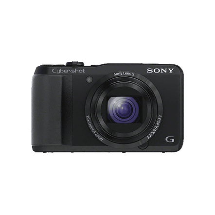 18.2 Megapixel H Series 20X Optical Zoom Cyber-shot Compact Camera (Black)