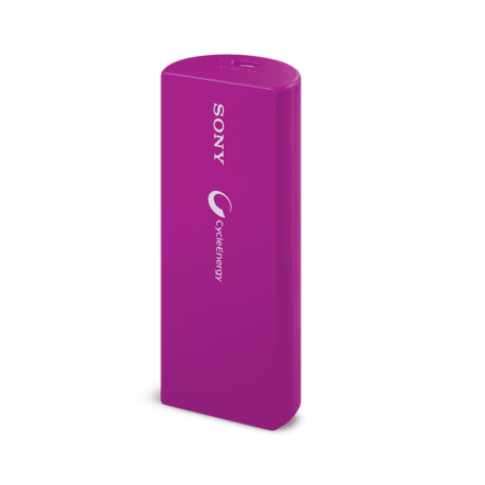 Portable USB Charger 3000mAH (Purple), , hi-res