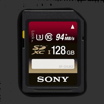 128GB SDXC UHS-1 Class 10 Memory Card UX Series, , hi-res
