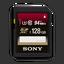 128GB SDXC UHS-1 Class 10 Memory Card UX Series