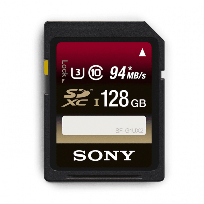 128GB SDXC UHS-1 Class 10 Memory Card UX Series, , product-image