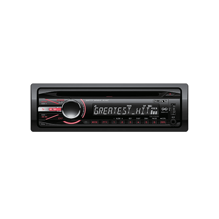 In-Car CD/MP3/WMA/Aac/Tuner Player GT490 Series Headunit, , product-image