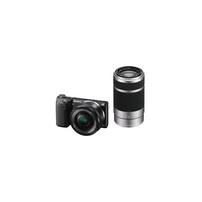 16.1 Mega Pixel Camera Body (Black) with SELP1650 and SEL55210 lens, , product-image