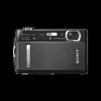 10.1 Mega Pixel T Series 5x Optical Zoom Cyber-shot (Black), , hi-res