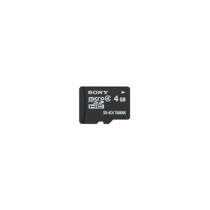 4GB MicroSDHC Memory Card, , product-image