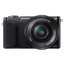 16.1 Megapixel Camera Body (Black) with SELP1650 Lens