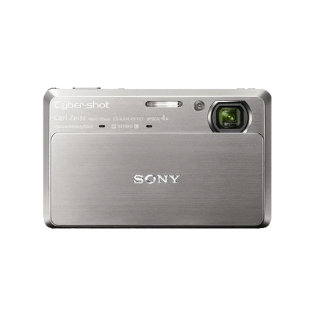 10.2 Megapixel T Series 4X Optical Zoom Cyber-shot Compact Camera (Silver)