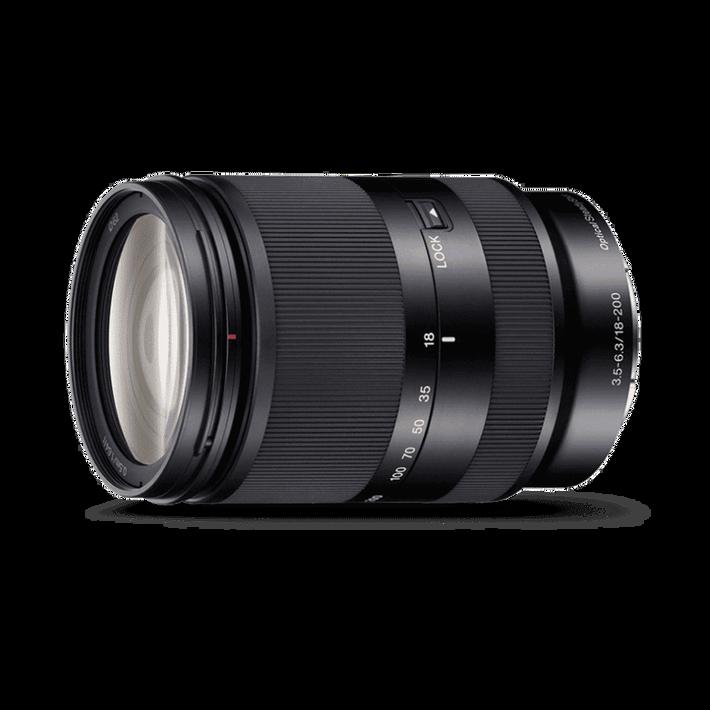 APS-C E-Mount 18-200mm F3.5-6.3 OSS LE Zoom Lens, , product-image