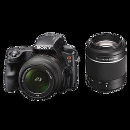 Digital SLT 16.1 Mega Pixel Camera with SAL1855 and SAL55200, , hi-res
