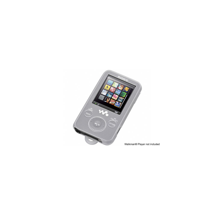 Silicone Carrying Case for Walkman Video MP3 Players (White)