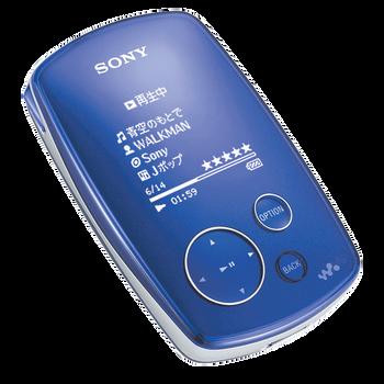 20GB HDD MP3 Walkman Violet, , hi-res