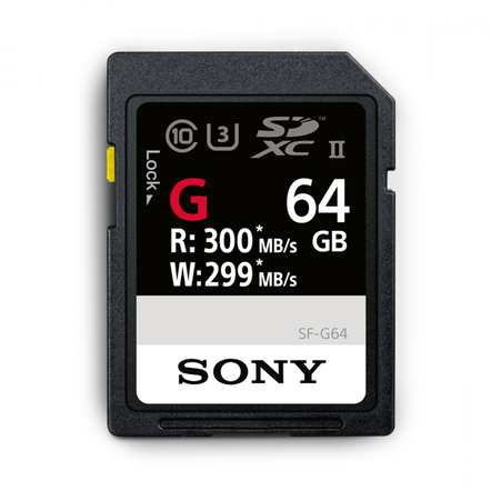 64GB SF-G  Series UHS-II SD Memory Card