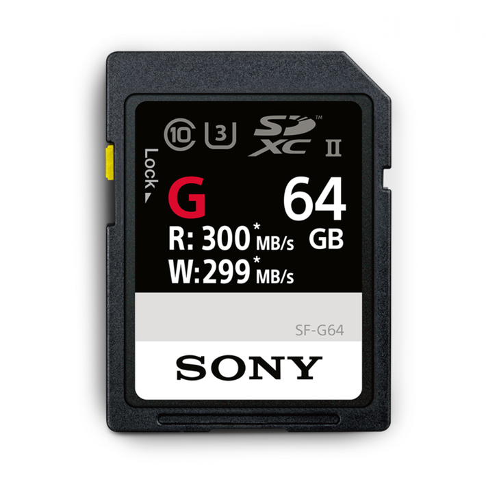 64GB SF-G  Series UHS-II SD Memory Card, , product-image