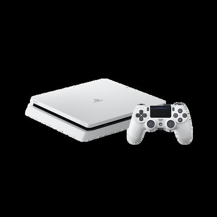 PlayStation4 Slim 500GB Console (White), , hi-res