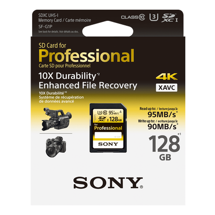 128GB PRO SD MEMORY CARD, , hi-res