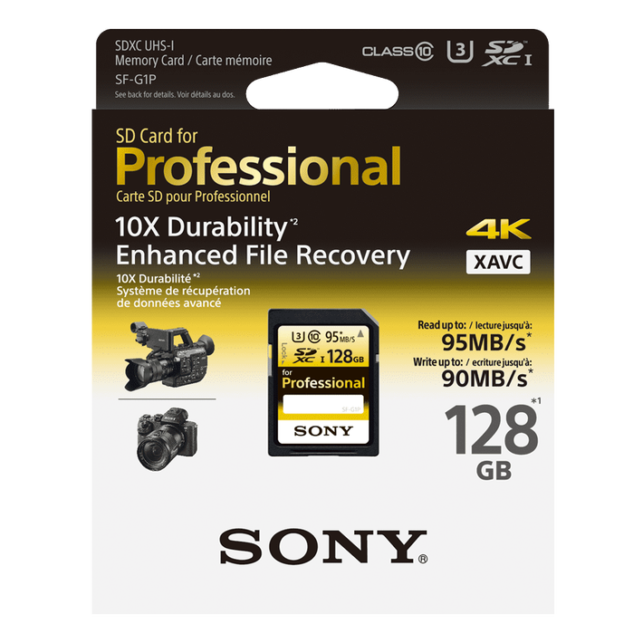 128GB PRO SD MEMORY CARD, , product-image