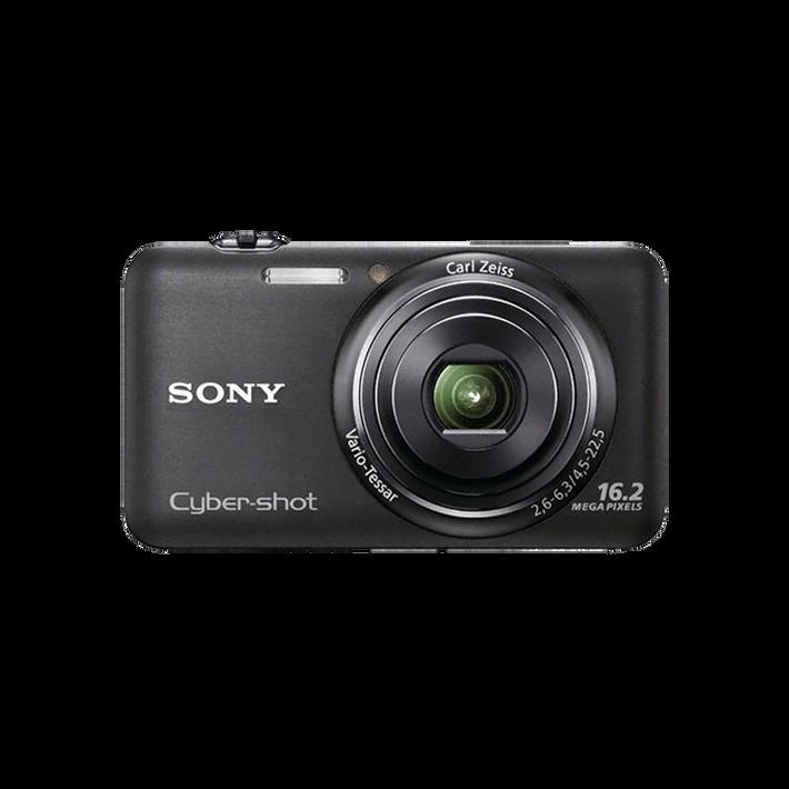 16.2 Mega Pixel W Series 5x Optical Zoom Cyber-shot (Black), , product-image