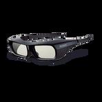 Active Shutter 3D Glasses for BRAVIA Full HD 3D TV (Black), , hi-res