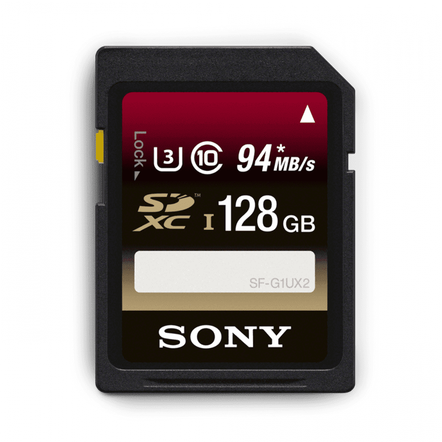 128GB SDXC Memory Card UHS-1 Class 10, , hi-res