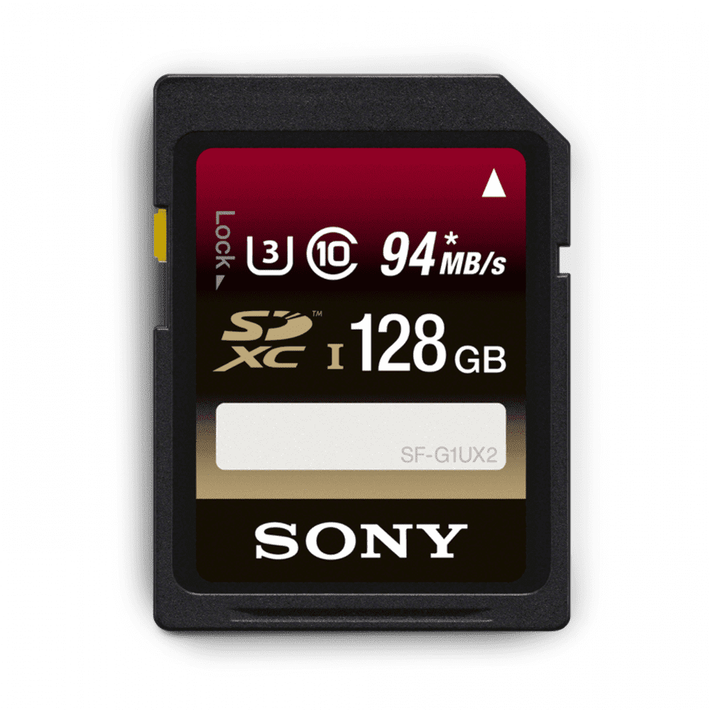 128GB SDXC Memory Card UHS-1 Class 10, , product-image