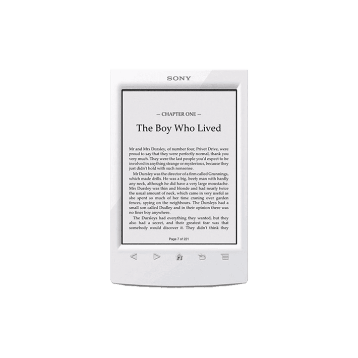 T2 Reader with 6.0 Paper-Like Touch Screen with Complimentary Harry Potter Ebook (White), , product-image
