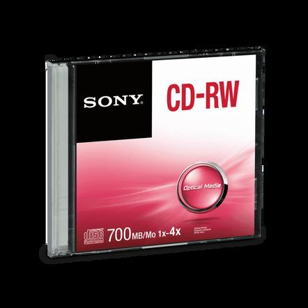 CD-RW Slim Case, , hi-res