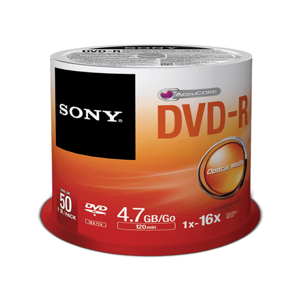 50-Pack DVD-R Disc, , hi-res