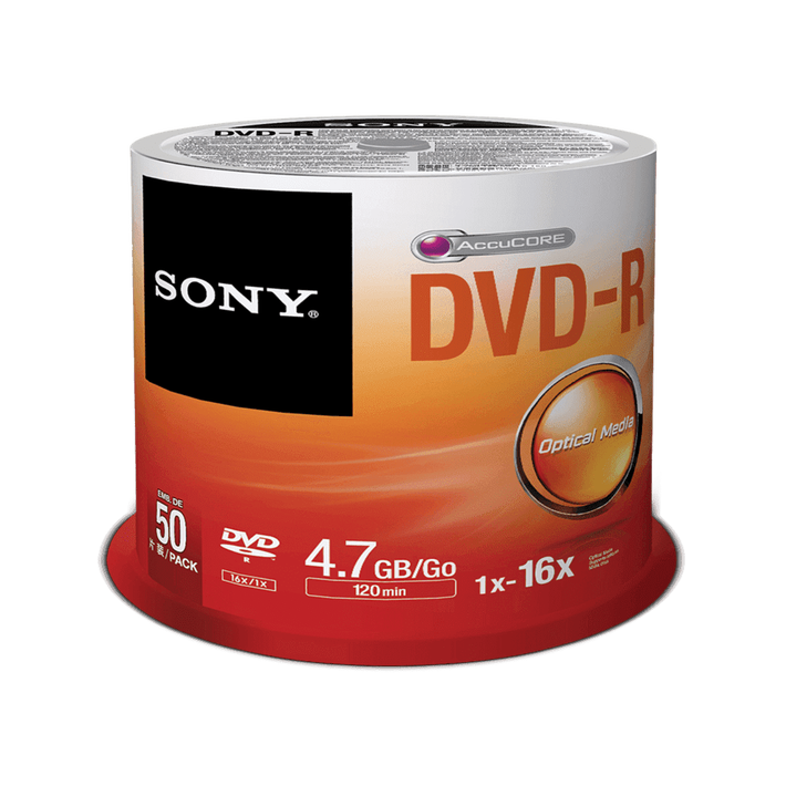 50-Pack DVD-R Disc, , product-image