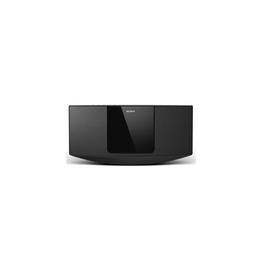CD Tuner Micro Hi-Fi System with USB (Black)