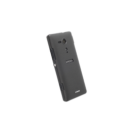 Xperia SP - Krusell Colourcover Black Case, , hi-res
