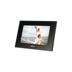 "7"" Digital Photo Frame (Black)"