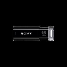 16GB USB Micro Vault Click (Black)