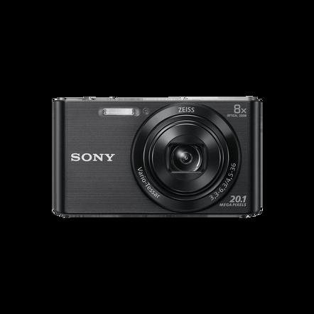 16.1 Megapixel W Series 5X Optical Zoom Cyber-shot Compact Camera (Black)