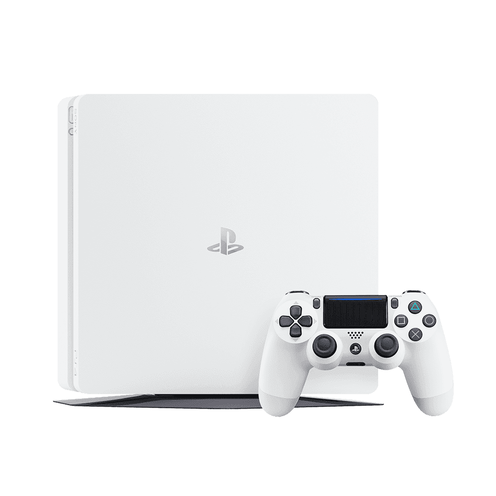 PlayStation4 Slim 500GB Console (White), , product-image