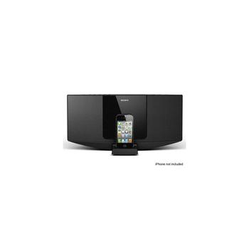 Hi-Fi Sound System with iPhone/iPod Dock (Black), , hi-res