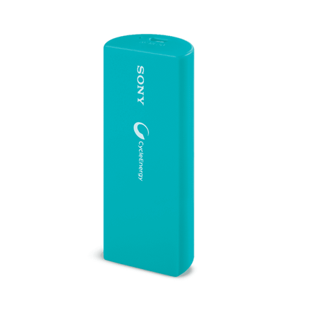 Portable USB Charger 2800mAH (Cream Blue), , hi-res