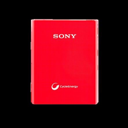 Portable USB Charger 3400mAH (Red), , hi-res