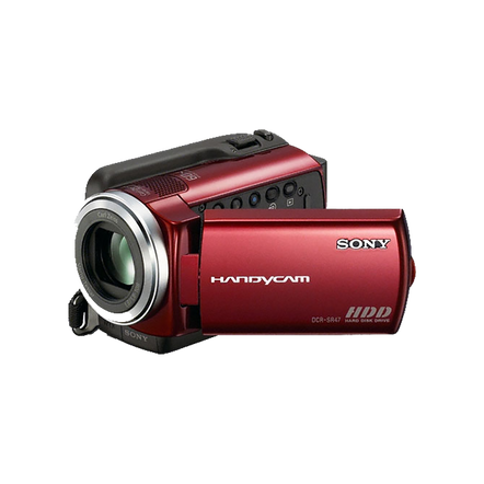 60GB Hard Disk Drive Camcorder (Red)