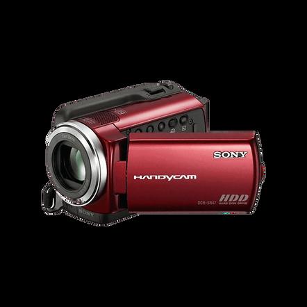 60GB Hard Disk Drive Camcorder (Red), , hi-res